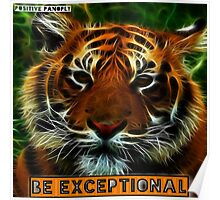 Be exceptional. Poster
