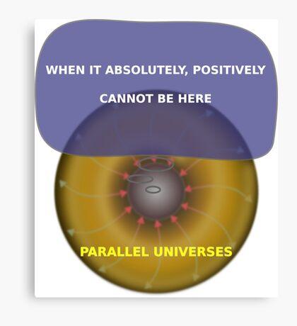 Parallel Universes - Fedex Canvas Print
