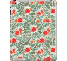 decorative vintage orange tree iPad Case/Skin