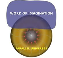 Parallel Universes - GE Photographic Print