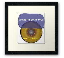 Parallel Universes - Hardees Framed Print