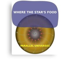 Parallel Universes - Hardees Canvas Print