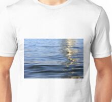 Building reflected in the water. Unisex T-Shirt