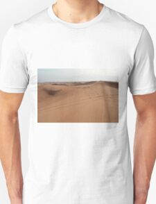 Sand dunes. The desert. Unisex T-Shirt