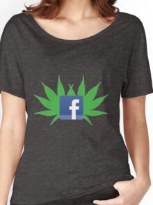 Facebook Drug  Women's Relaxed Fit T-Shirt