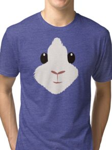Close-up - Mocha Tri-blend T-Shirt