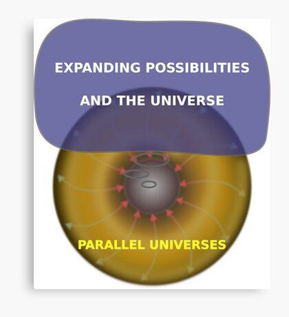 Parallel Universes - HP Canvas Print