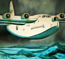 Short Sunderland Flying Boat (2) Sticker