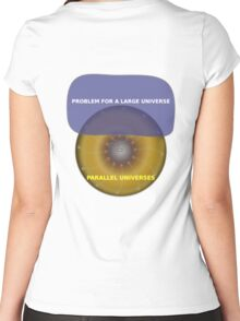 Parallel Universes - IBM Women's Fitted Scoop T-Shirt