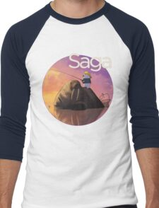 Saga Comic Ghus Men's Baseball ¾ T-Shirt