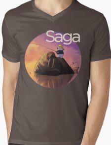 Saga Comic Ghus Mens V-Neck T-Shirt