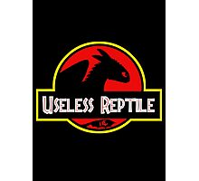 Useless Reptile Photographic Print