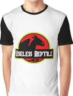 Useless Reptile Graphic T-Shirt