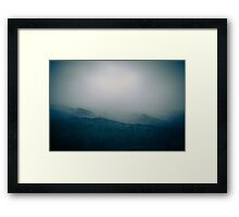 Blue Mist Framed Print