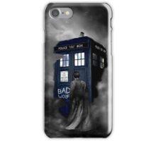 Blue Box in The Mist iPhone Case/Skin