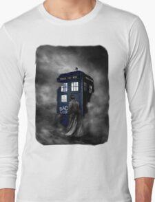 Blue Box in The Mist Long Sleeve T-Shirt