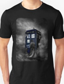 Blue Box in The Mist T-Shirt