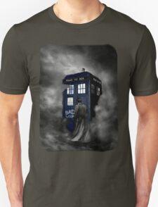 Blue Box in The Mist T-Shirt