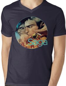 Saga Comic Skwad Mens V-Neck T-Shirt