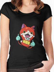 yokai watch Women's Fitted Scoop T-Shirt