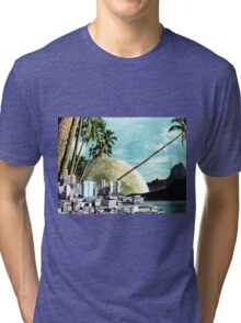 Paradise Lost, Vintage Collage Tri-blend T-Shirt
