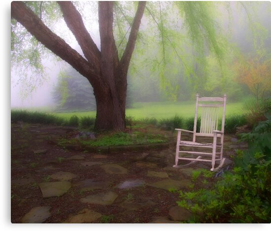 Morning In the Garden by Kathy Weaver