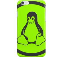 Tux Green iPhone Case/Skin