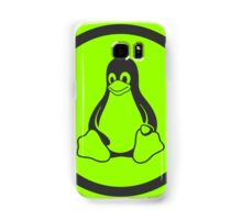 Tux Green Samsung Galaxy Case/Skin