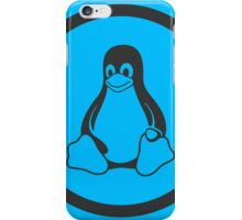 Tux Blue iPhone Case/Skin