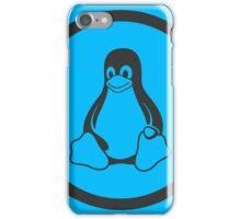 Tux Blue iPhone Case/Skin