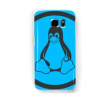 Tux Blue Samsung Galaxy Case/Skin