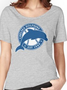 Official Chelsea Dolphins Logo Women's Relaxed Fit T-Shirt