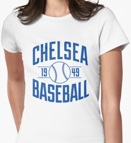 Chelsea Baseball Club - Blue Version Womens Fitted T-Shirt