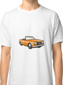 Vintage Cabriolet Top-Down Car Isolated Retro Classic T-Shirt