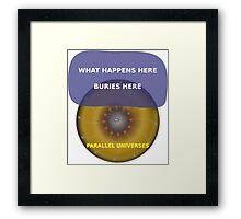 Parallel Universes - Las Vegas Framed Print