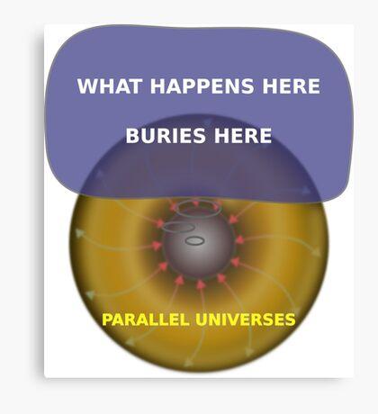 Parallel Universes - Las Vegas Canvas Print