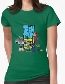 Teen Titans Go! 1 Womens Fitted T-Shirt