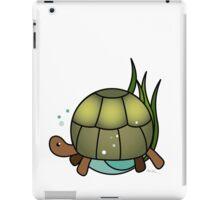 Animal in a circle, Turtle iPad Case/Skin