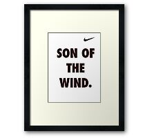 Son of the Wind - Hanuman Framed Print
