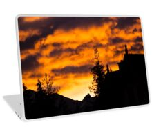 Burning Sky - Nature Photography Laptop Skin