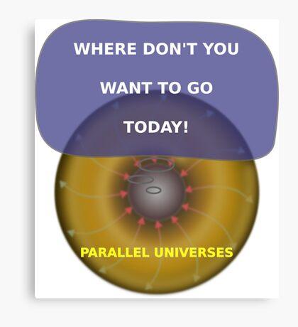 Parallel Universes - MS3 Canvas Print