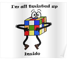 Twisted-Rubik's Poster