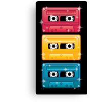 Mixtapes Canvas Print