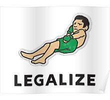 Legalize Nick Diaz! Poster