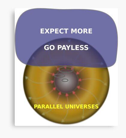 Parallel Universes - Target Canvas Print