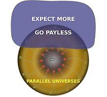 Parallel Universes - Target Photographic Print