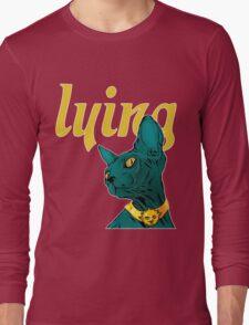 Saga Comic Lying Cat Long Sleeve T-Shirt