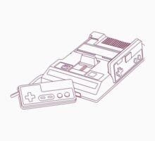 3D Famicom One Piece - Short Sleeve