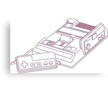 3D Famicom Canvas Print