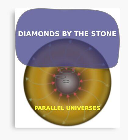 Parallel Universes - Tiffany Canvas Print
